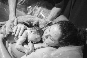 HazelTree Midwifery Peaceful water birth, home birth